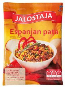 JALOSTAJA 190G ESPANJAN PATA-AINES