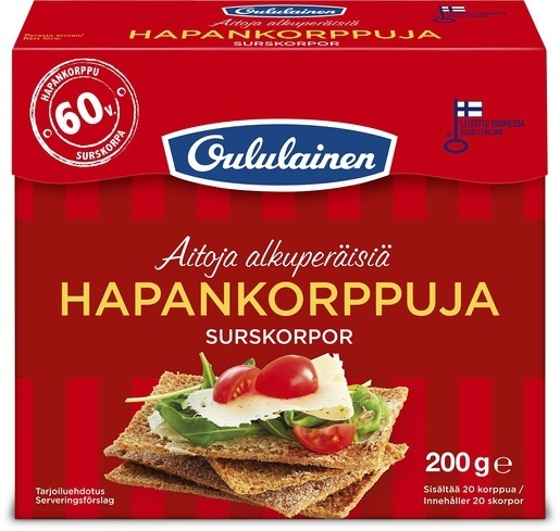 OULUL HAPANKORPPU 200G