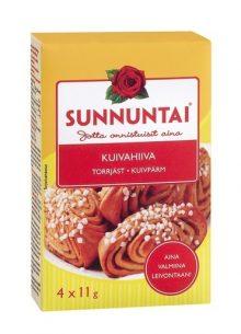 SUNNUNTAI KUIVAHIIVA 4X11G