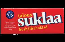 FAZER TALOUSSUKLAA 200G TUMMASUKLAA