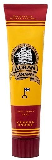 AURAN VÄKEVÄ SINAPPI 125G